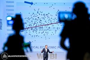 world business Forum convegno dedicato ai top manager fotografi Milano