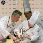 lo show cooking di Aliberti e Tarabini